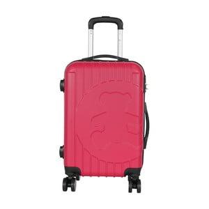 Ružový príručný kufor LULU CASTAGNETTE Philip, 44 l