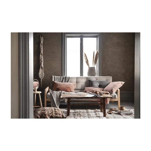 Variabilná rozkladacia pohovka s futónom v béžovej farbe Karup Design Grab Natural/Beige