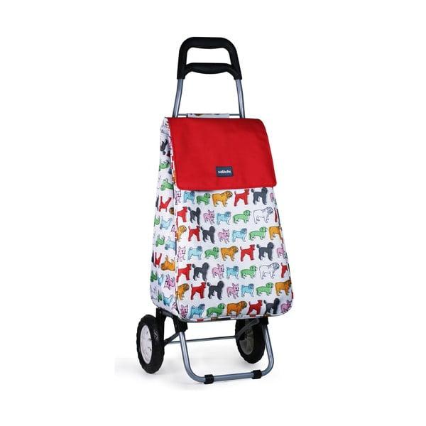 Pojazdná nákupná taška Pug