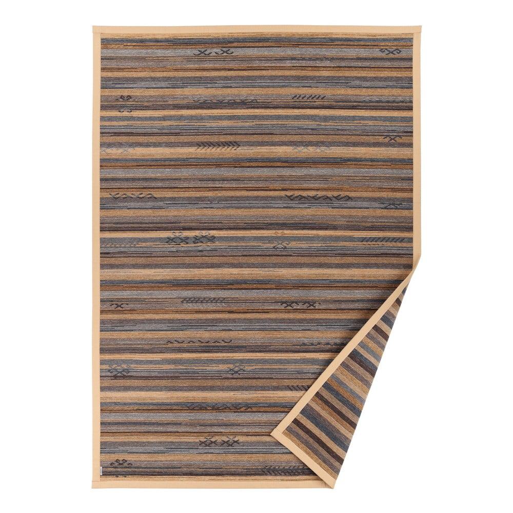 Béžový vzorovaný obojstranný koberec Narma Liiva, 70 × 140 cm