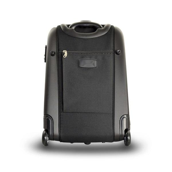 Sada 2 cestovných tašiek na kolieskach Roulettes Black