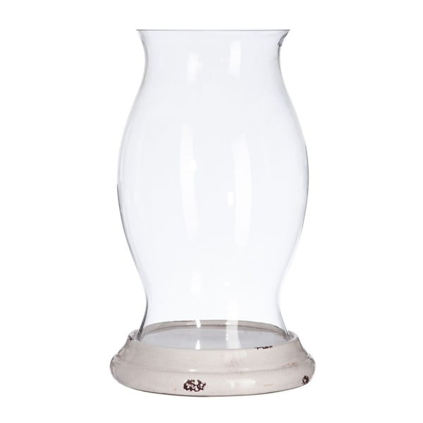 Svietnik Clear Glass, 28x28x49 cm