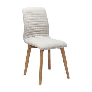 Sada 2 krémových jedálenských stoličiek Kare Design Lara