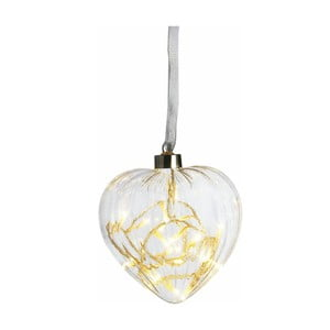 Svietiace srdce Heart, 13 cm