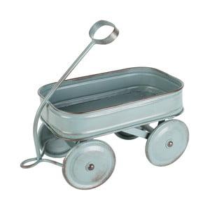 Kovový dekoratívny vozík Charrette