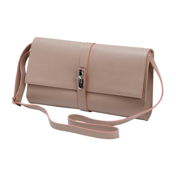 Staroružová kožená kabelka Andrea Cardone 1010