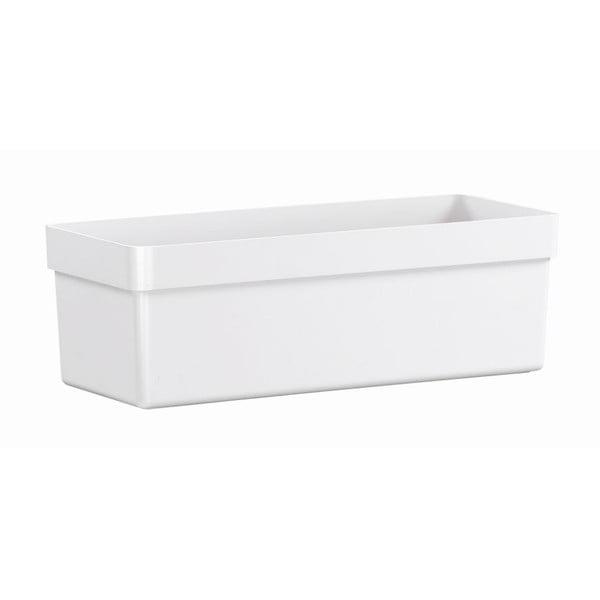 Kvetináč City Classic White, 74x20x16 cm