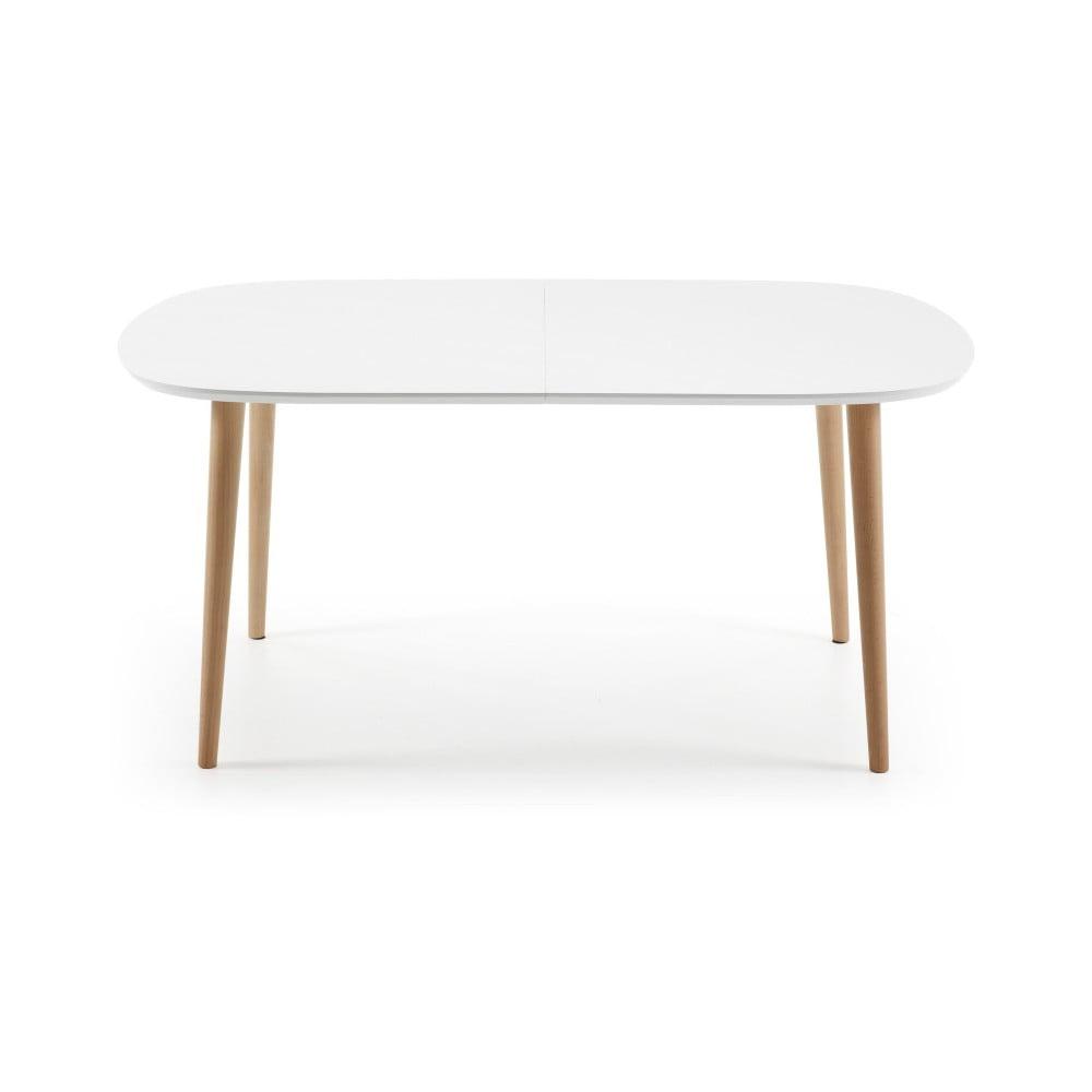 Rozkladací jedálenský stôl z bukového dreva La Forma Oakland, dĺžka 160-260 cm
