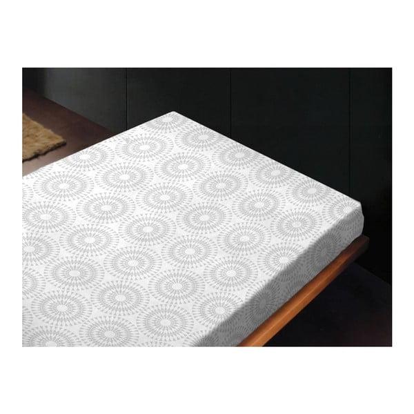 Neelastická posteľná plachta Bianco Unico, 240x260 cm