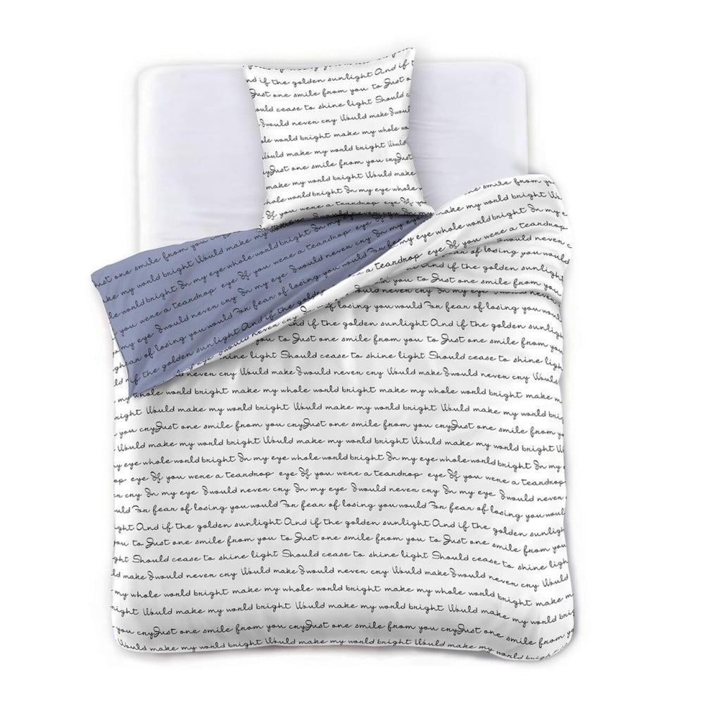 Obliečky na jednolôžko z mikrovlákna DecoKing Poemlight, 140 x 200 cm