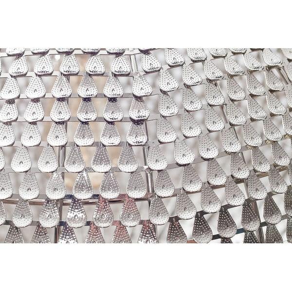 Závesný luster Fisura Waves Silver, 40cm