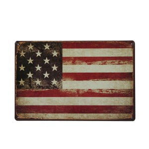 Ceduľa USA Flag, 20x30 cm