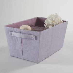 Fialový úložný košík Compactor Light Purple Rope