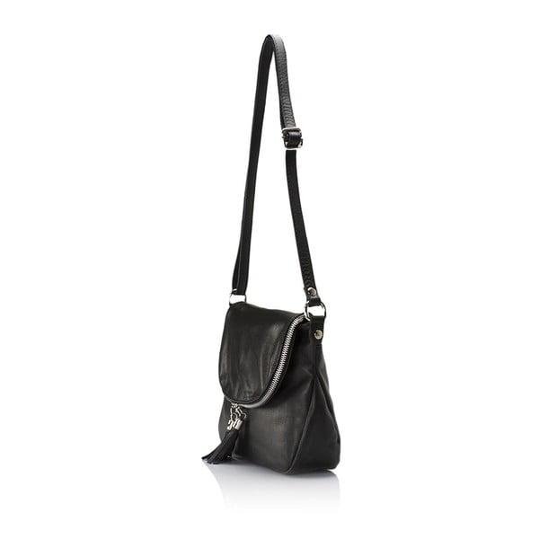 Kožená kabelka Markese 6949 Black
