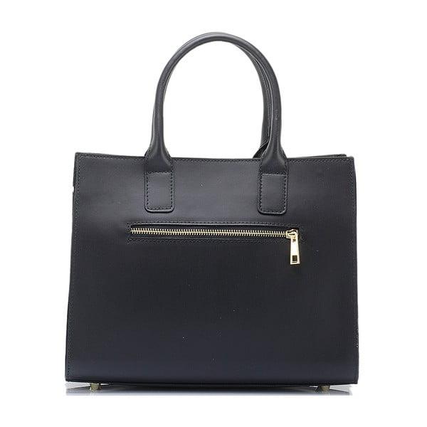 Kožená kabelka Massimo Castelli 2350 Black