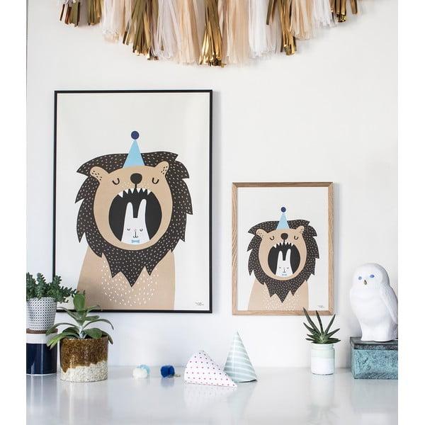 Plagát Michelle Carlslund Lion & Bunny, 50x70cm