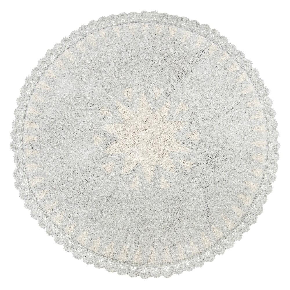 Detský ručne vyrobený prírodný koberec Nattiot Warren, Ø 110 cm