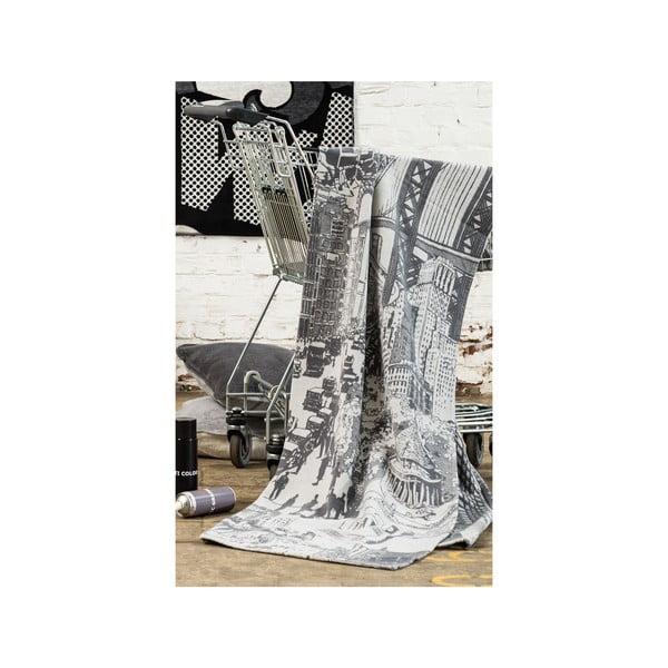 Deka Gots, 140x200 cm, motív mesta