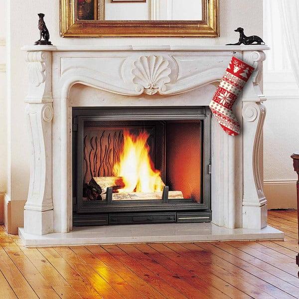 Červená vianočná ponožka Christmas