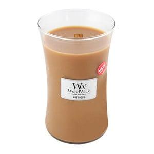 Sviečka s vôňou škorice, muškátového orieška a karamelu Woodwick Horúci punč, doba horenia 130 hodín