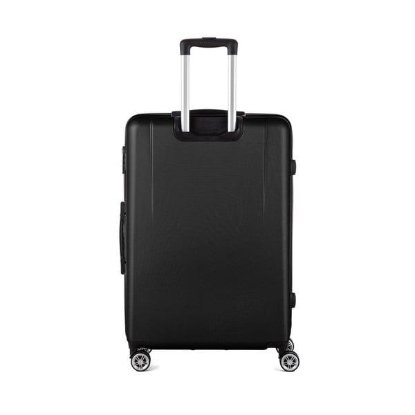Čierny cestovný kufor Berenice Wings, 107 l