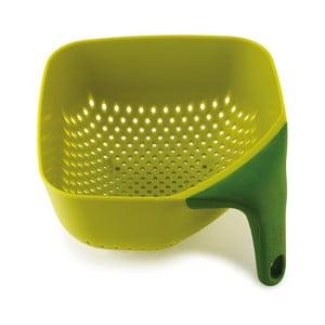 Zelené kubické cedidlo Joseph Joseph Square Colander
