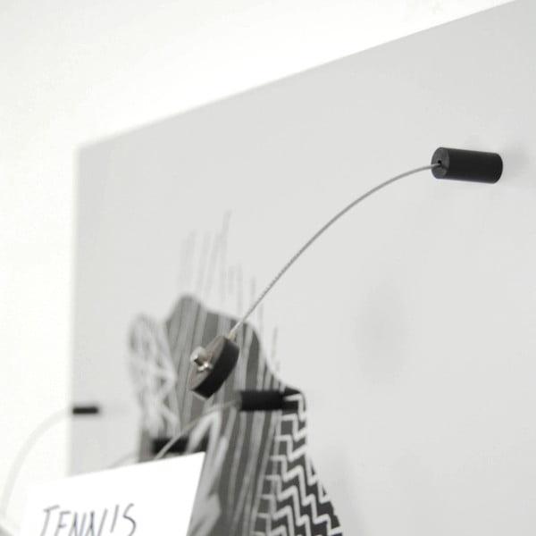Magnetická tabuľa dESIGNoBJECT.it Brainstorming, 50 x 50 cm