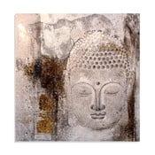 Obraz na plátne Buda, 100x100 cm