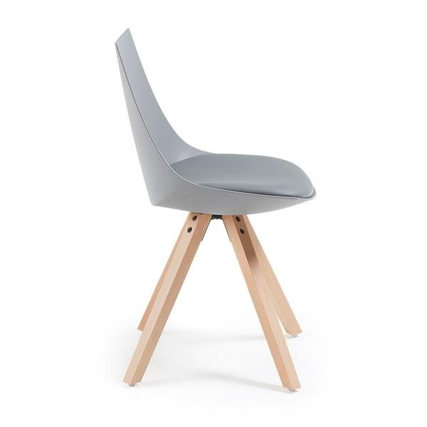 Sivá stolička La Forma Armony