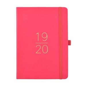 Ružový plánovač 2019/20 Busy B, 112 strán