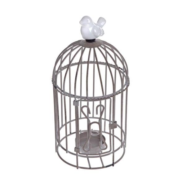 Stojan na čajovú sviečku Beige Cage