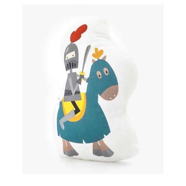 Bavlnený detský vankúšik Mr. Fox Knight, 40×30cm