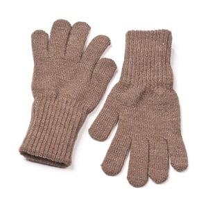 Svetlohnedé rukavice Lavaii Edit