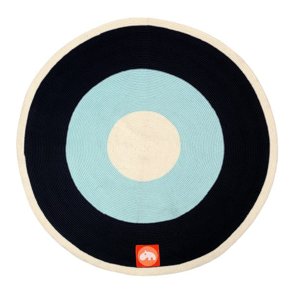 Koberec Round Blue, 113 cm