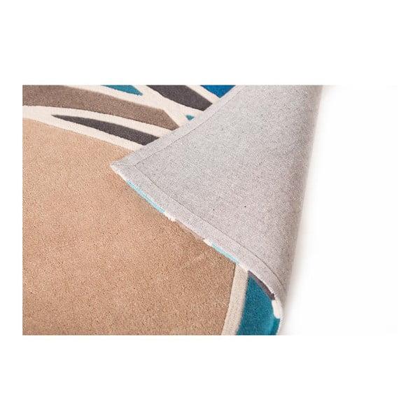 Koberec Flair Rugs Spectre Taupe/Teal, 160 x 230 cm