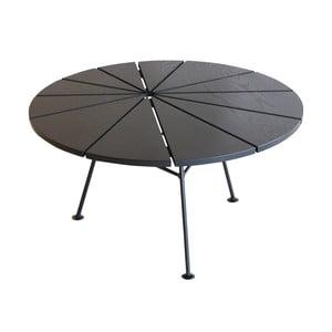Konferenčný stolík Bam Bam, čierny, priemer 70 cm