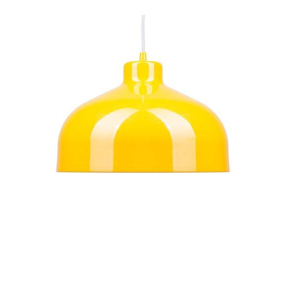 Žlté stropné svetlo Loft You B&B, 22 cm
