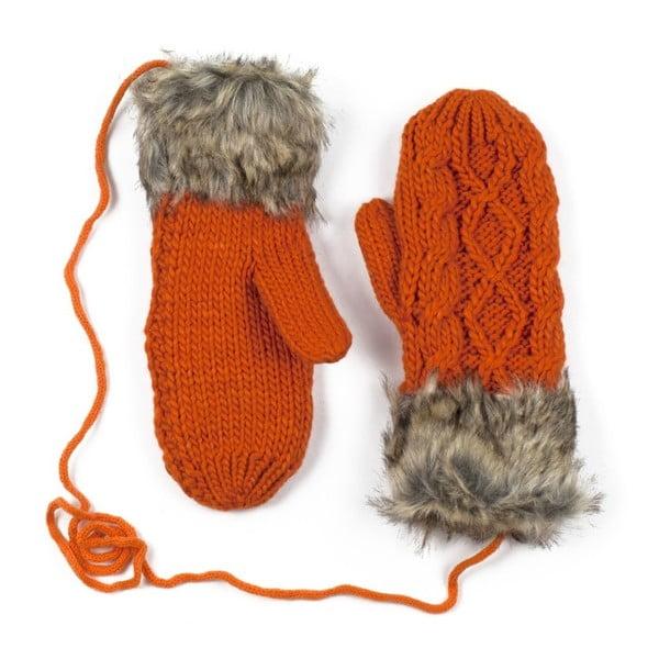 Oranžové rukavice Dolores
