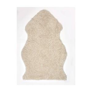Ovčia kožušina Curly Pearl, 90 cm
