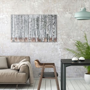 Obraz na plátne OrangeWallz Birch, 70 x 118 cm