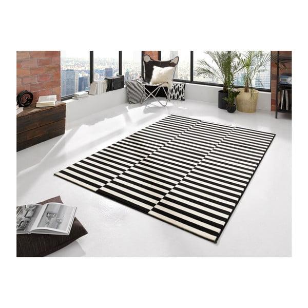 Čierno-biely koberec  Hanse Home Gloria Panel, 120x170cm