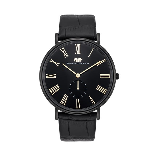 Pánske hodinky Rhodenwald&Söhne Secundo Black