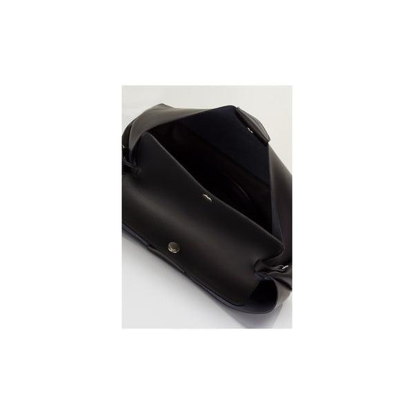 Kožená kabelka Massimo Castelli 2406 Black