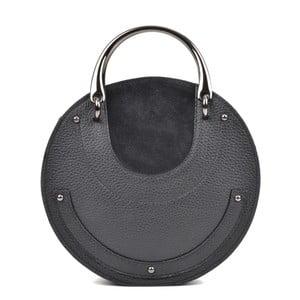 Čierna kožená kabelka Isabella Rhea Alice