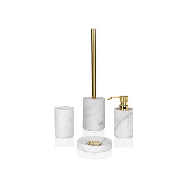 Toaletná kefa Marble Gold