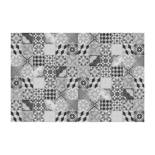 Vinylový koberec Mosaico Vintage Gris, 133x200 cm