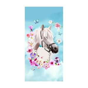 Plážová osuška s potlačou Good Morning My Beauty, 150 x 75 cm