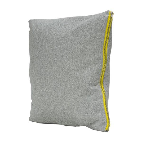 Vankúš Fisura Gris Limon, 45x45cm