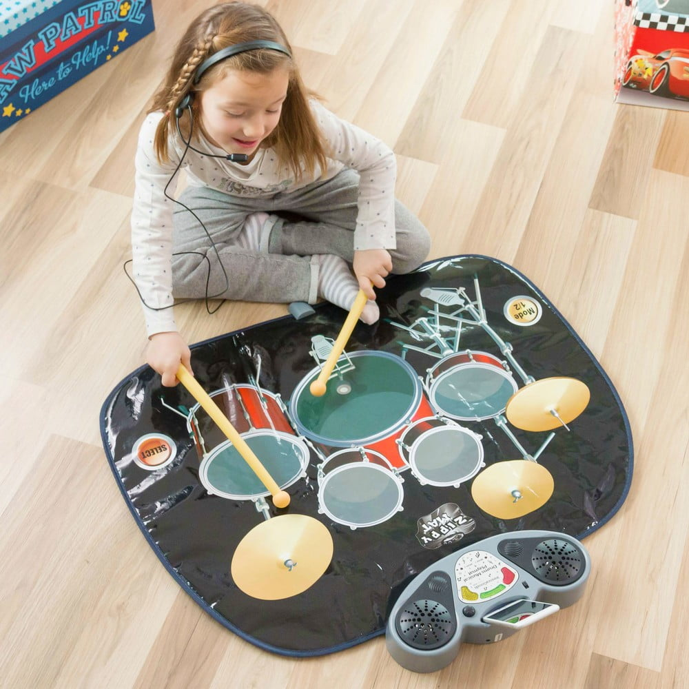 Detská hracia bubnová podložka InnovaGoods Drum Kit Playmat