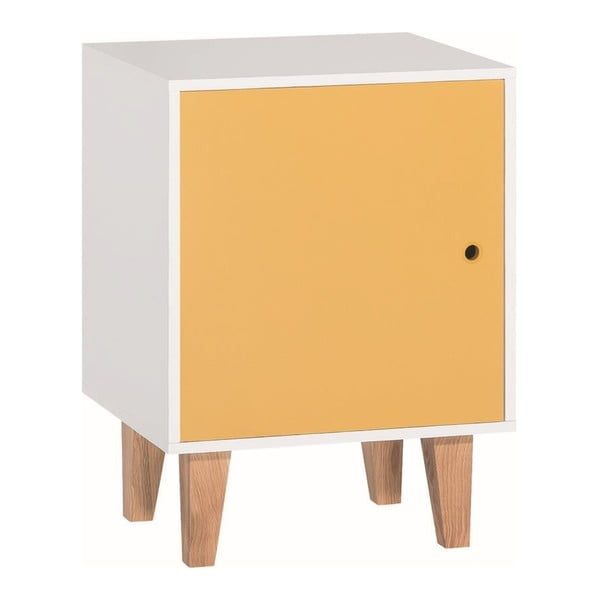 Žlto-biela skrinka Vox Concept